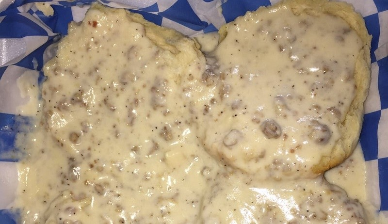 Biscuits and Gravy Outer Banks Breakfast