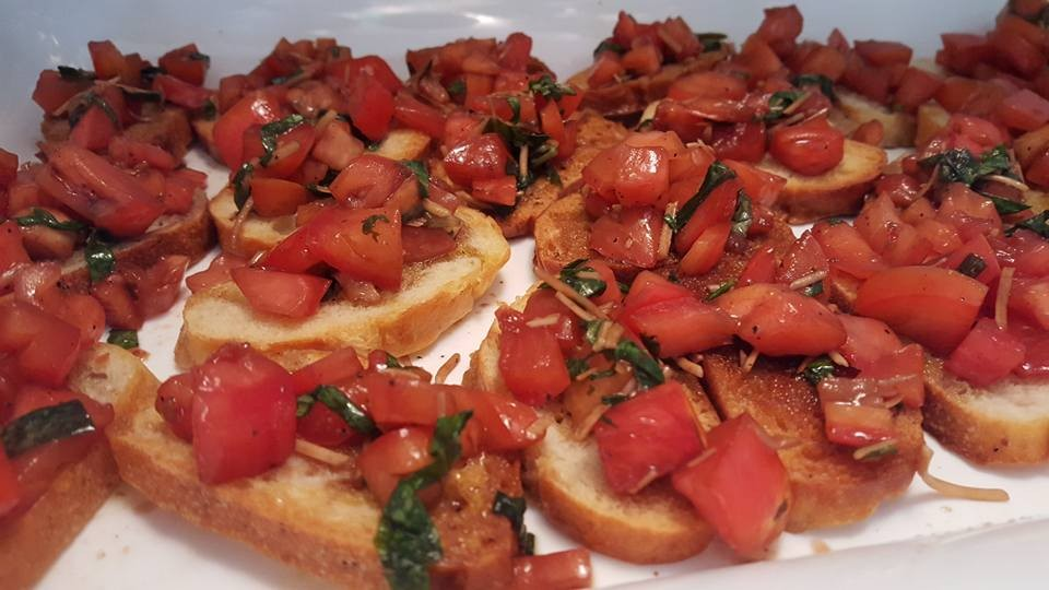 Outer Banks Wedding Catering Appetizer