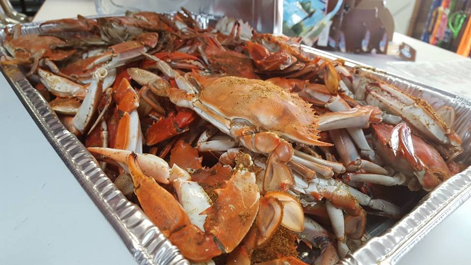 Outer Banks Steamed Seafood