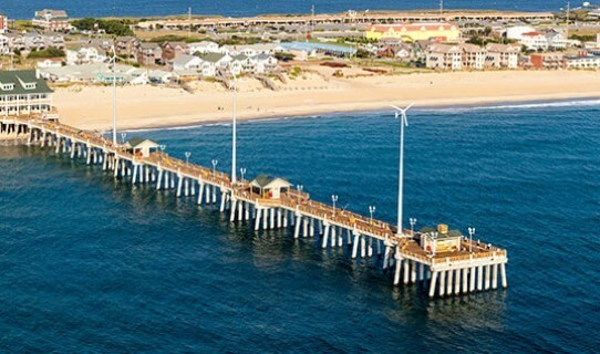 The famous pier.