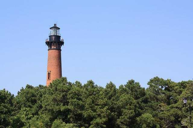 Currituck Beach Lighthouse in Corolla, NC