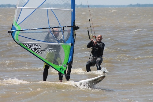 Waves NC is known for Kiteboarding and Windsurfing