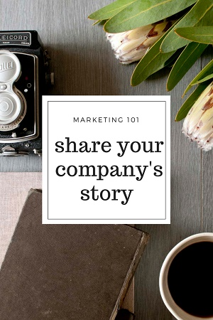 Share Your Companys Story